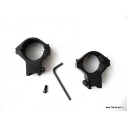 Montáž dvoudílná střední 25 mm